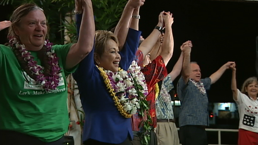 VIDEO: Democratic Grand Rally In Hilo A First For David Ige