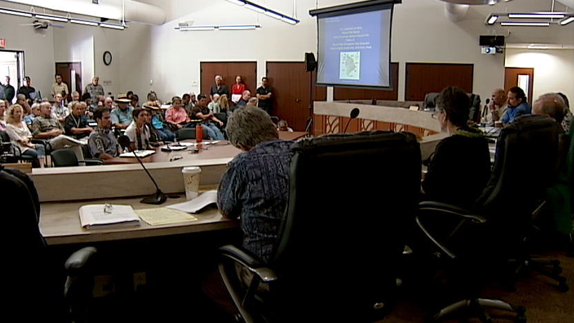 VIDEO: Water Commission Holds Hearing in Kona