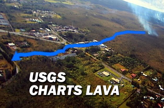 VIDEO: Hawaiian Volcano Observatory Details Lava Track