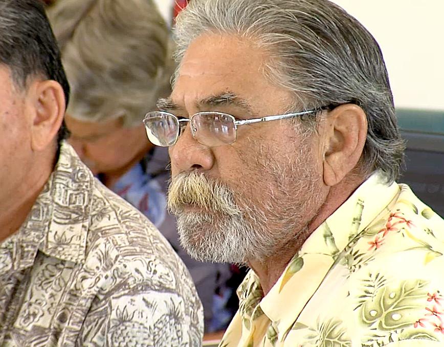 VIDEO: Palikapu Dedman Demands Geothermal Hawaiian Impact Study