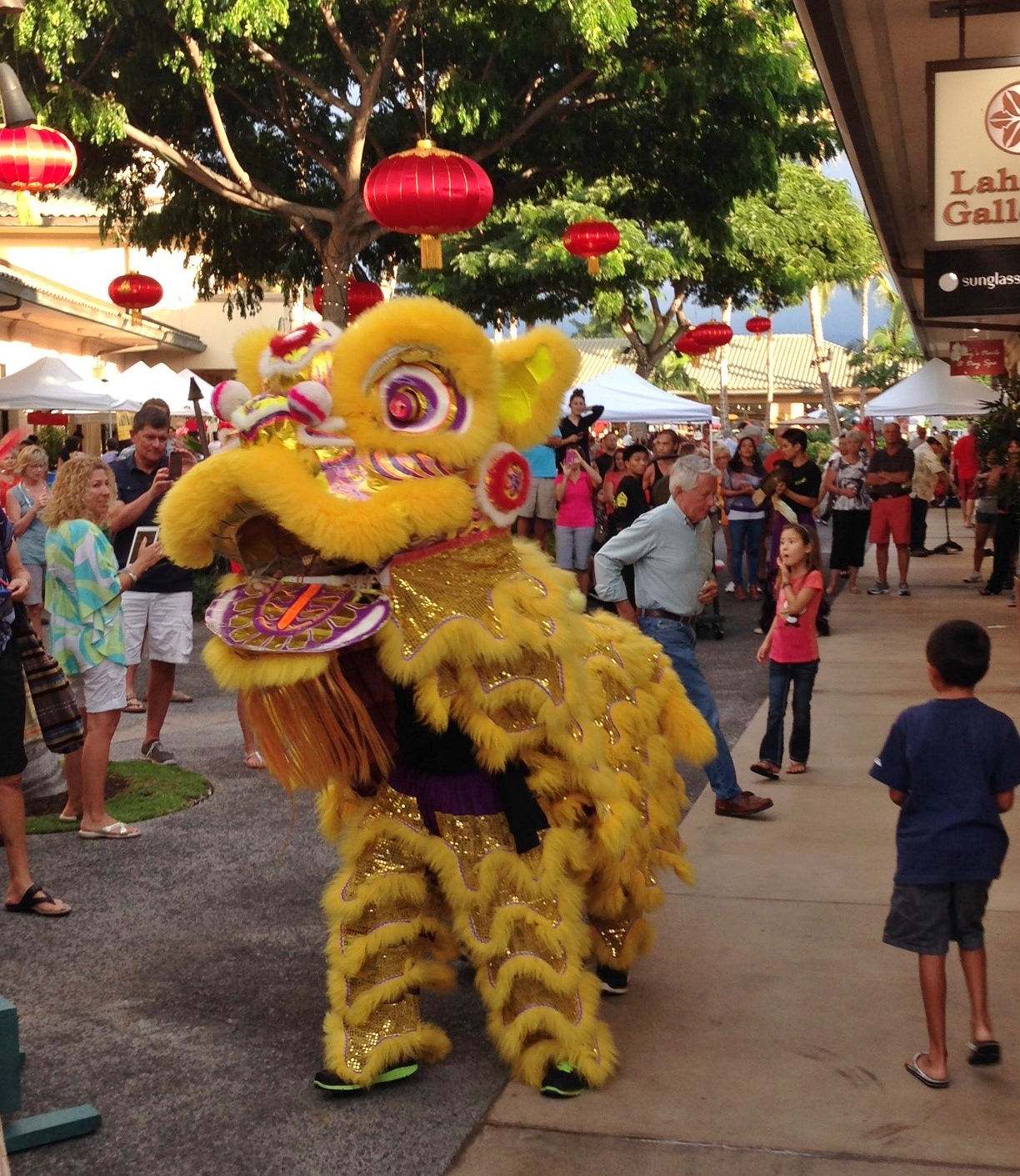 Fortune Festival Tonight at The Shops at Mauna Lani