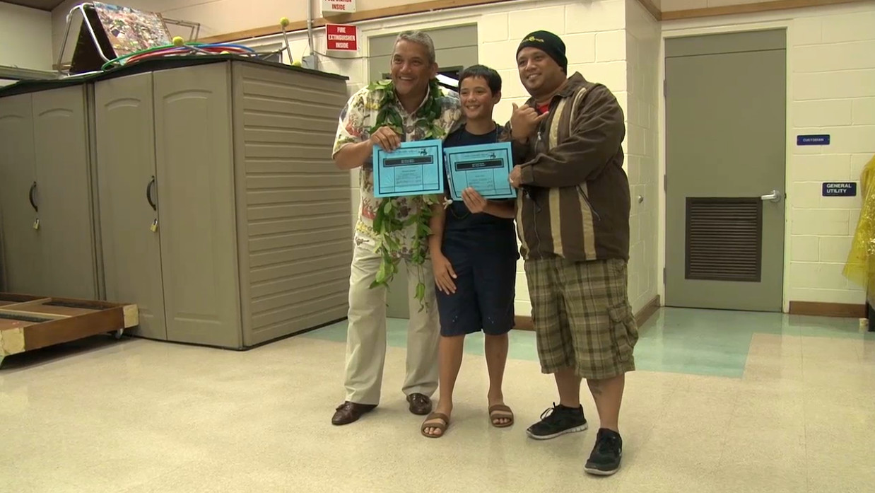 VIDEO: Waimea Students Connect For Success With Mayor Kenoi