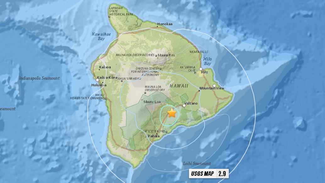 Feb   Earthquake Big Island
