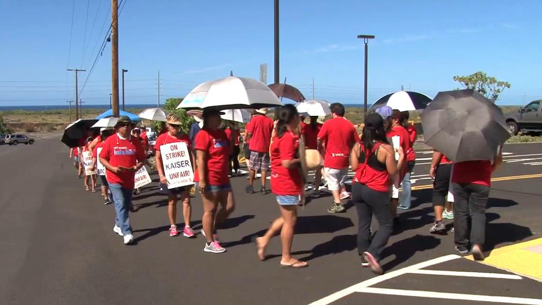 VIDEO: Union Strike Ends At Kaiser, Talks Set For Next Week