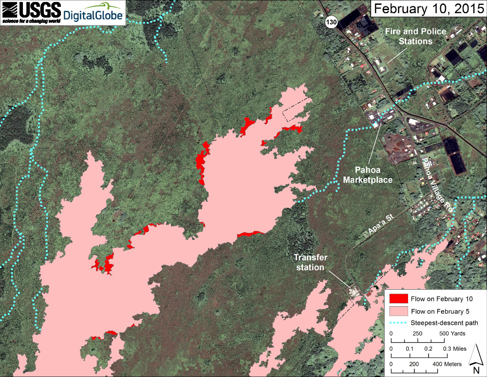 Lava Flow Mapped During USGS Overflight