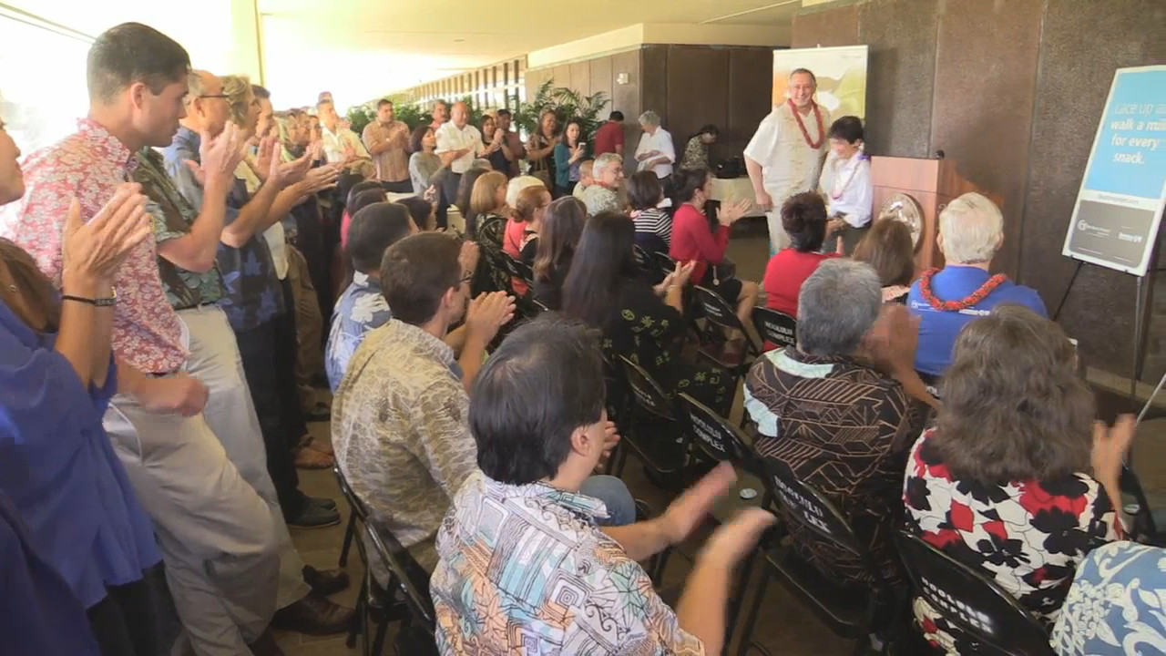 VIDEO: First Three Blue Zones Project Demonstration Communities In Hawaii Named