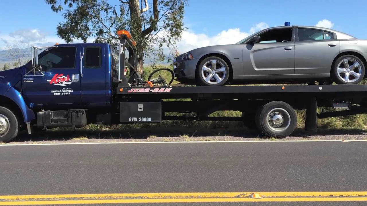 Michigan Bicyclist Dies After Collision With Police Car In Waikoloa