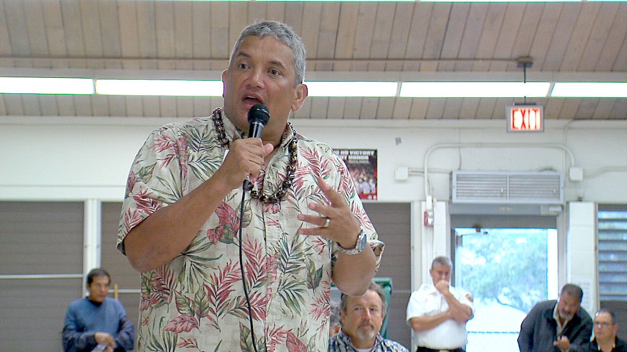 VIDEO: Mayor Kenoi Talk Story in Waimea