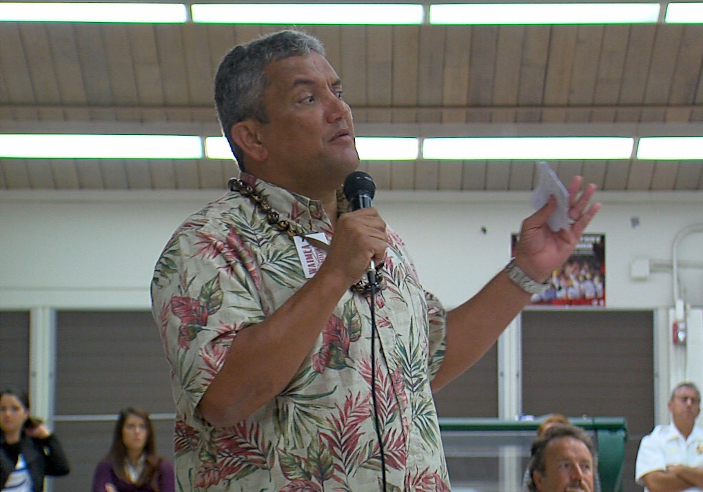 VIDEO: Mayor Kenoi On Dangerous Waikoloa Road