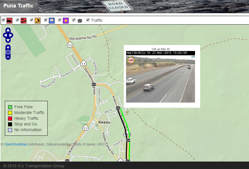 Puna Traffic Cams Go Live On New Website