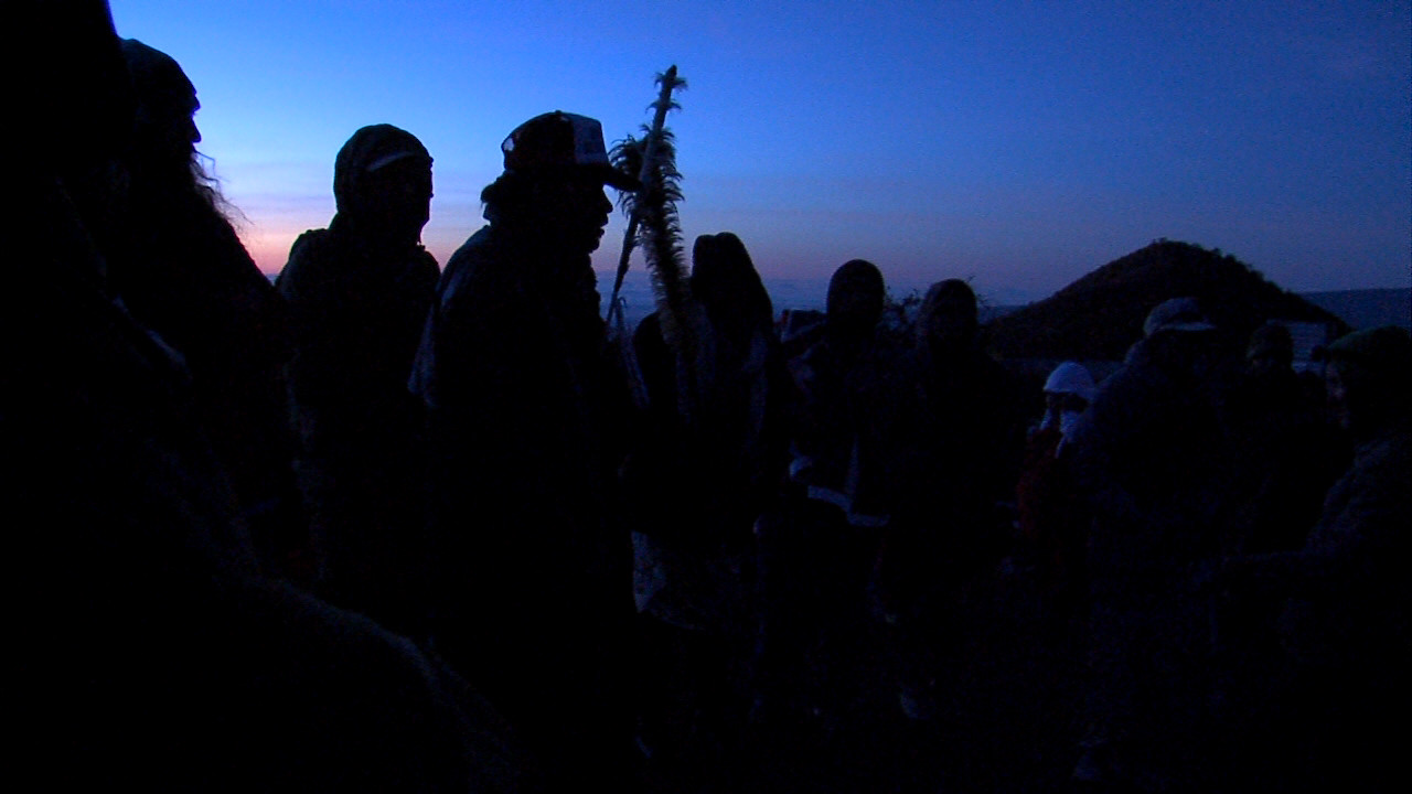 VIDEO: Before The Arrests, Part 1 – Pre-Dawn Huddle