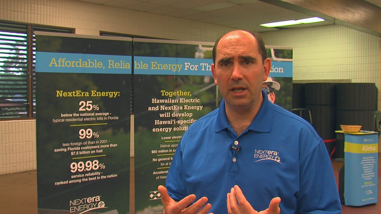 VIDEO: NextEra and HELCO Meet With Pahoa Residents