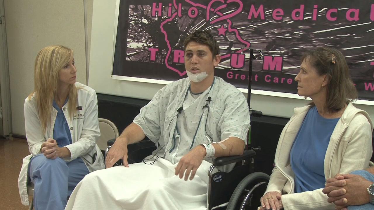 VIDEO: Hilo Plane Crash Survivor Speaks