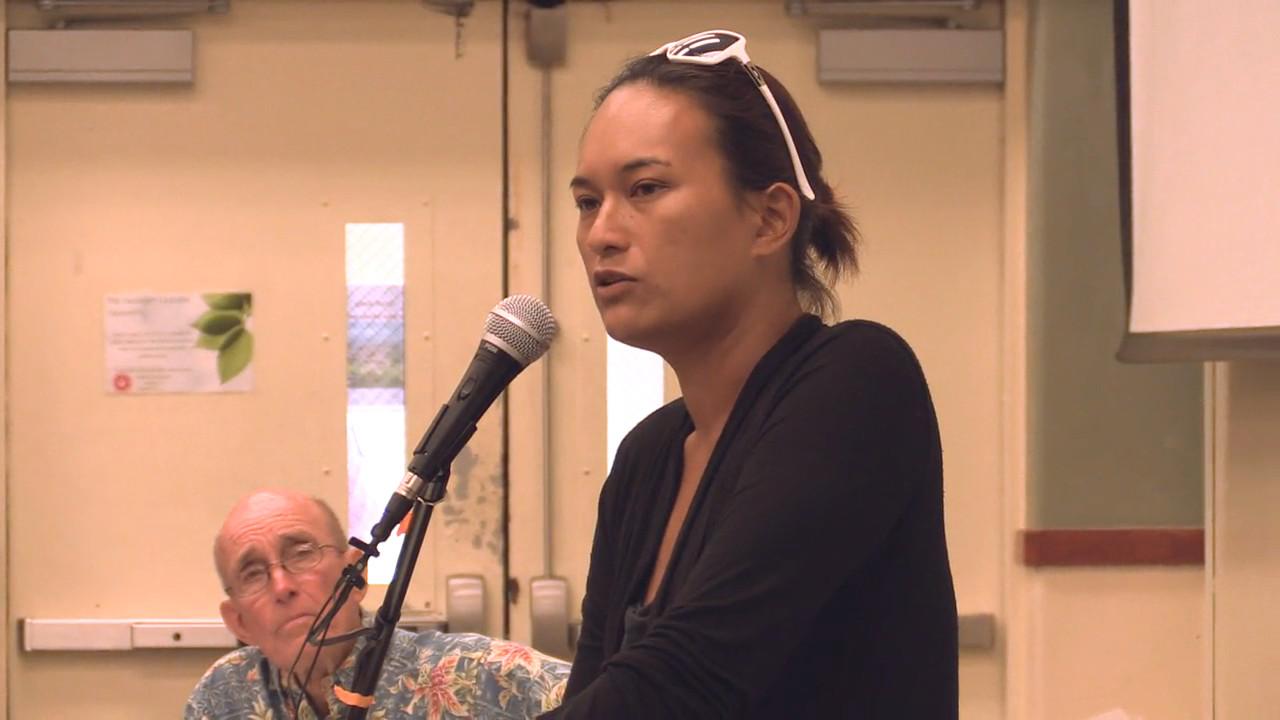 VIDEO: Testimony Against TMT On Mauna Kea Dominates UH Meeting