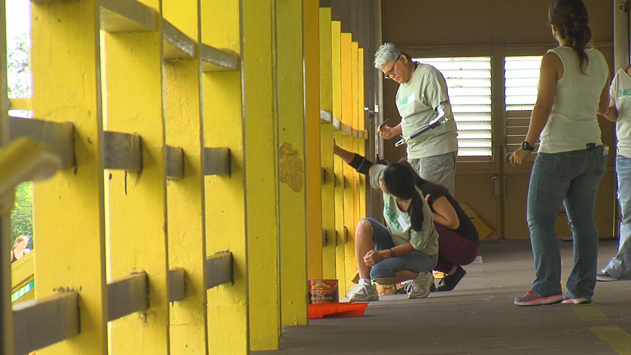 VIDEO: Labor Of Love For Mountain View Elementary