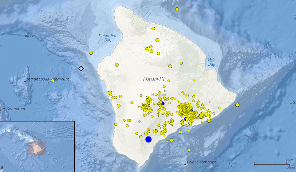 4.5 Earthquake Shakes Big Island