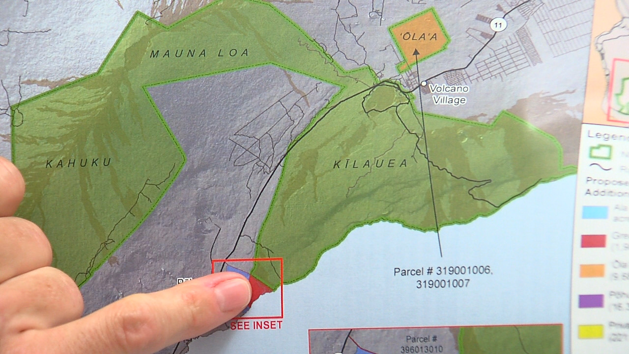 VIDEO: Future Hawaii Volcanoes National Park Planned