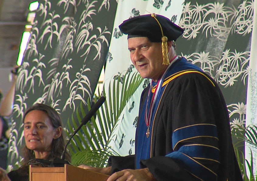 VIDEO: Keynote Address By John Pezzuto At UH-Hilo Commencement