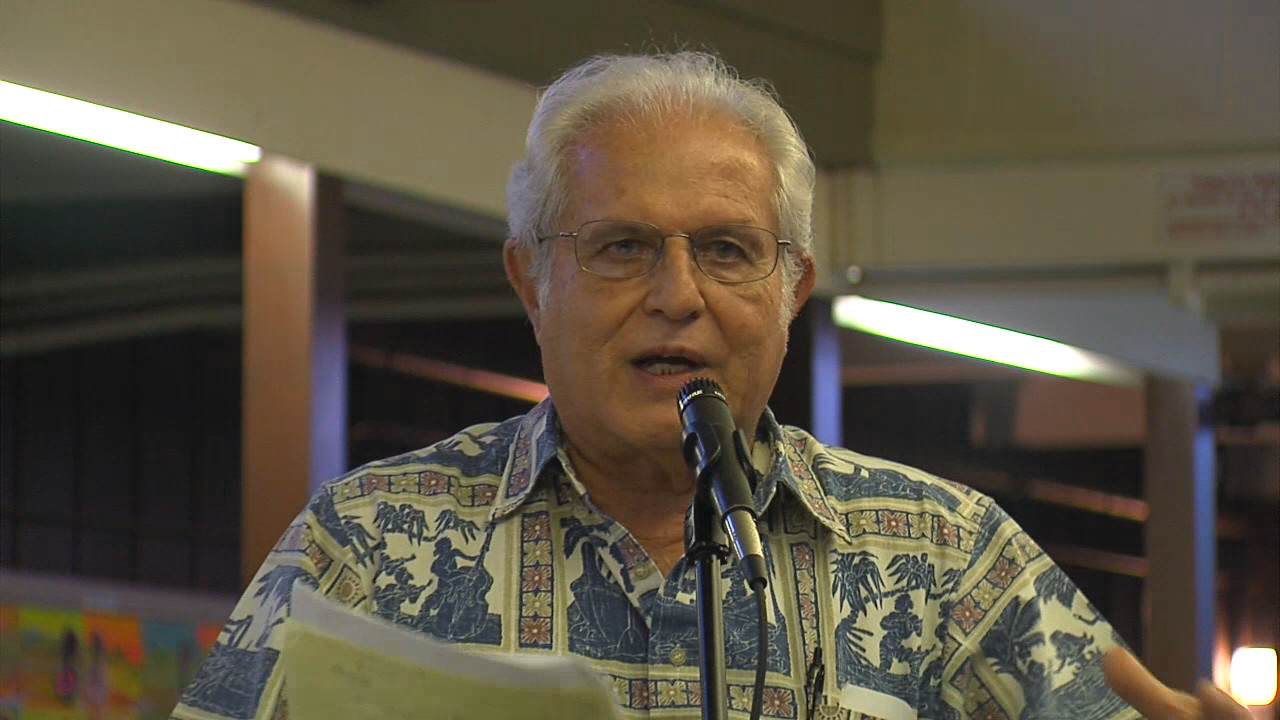 VIDEO: Gerald DeMello Gives Timeline Of Astronomy On Mauna Kea