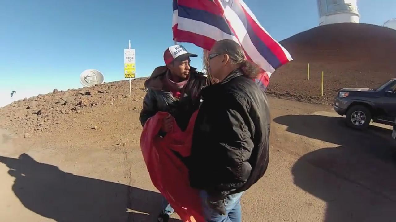 VIDEO: Ishibashi Explains Confrontation on Mauna Kea