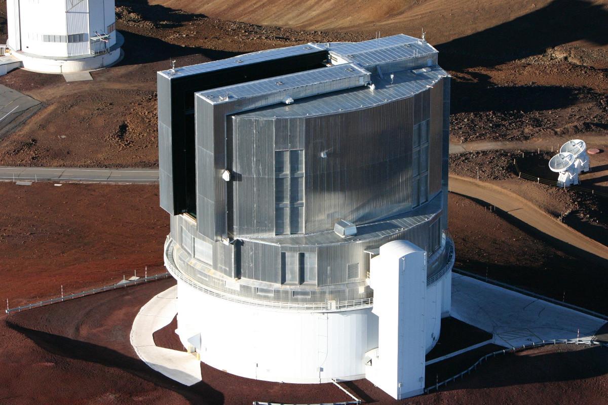 Bullet Hole Found In Door Of Mauna Kea Observatory