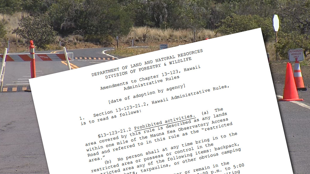 State Votes On New Rules For Mauna Kea, July 10th