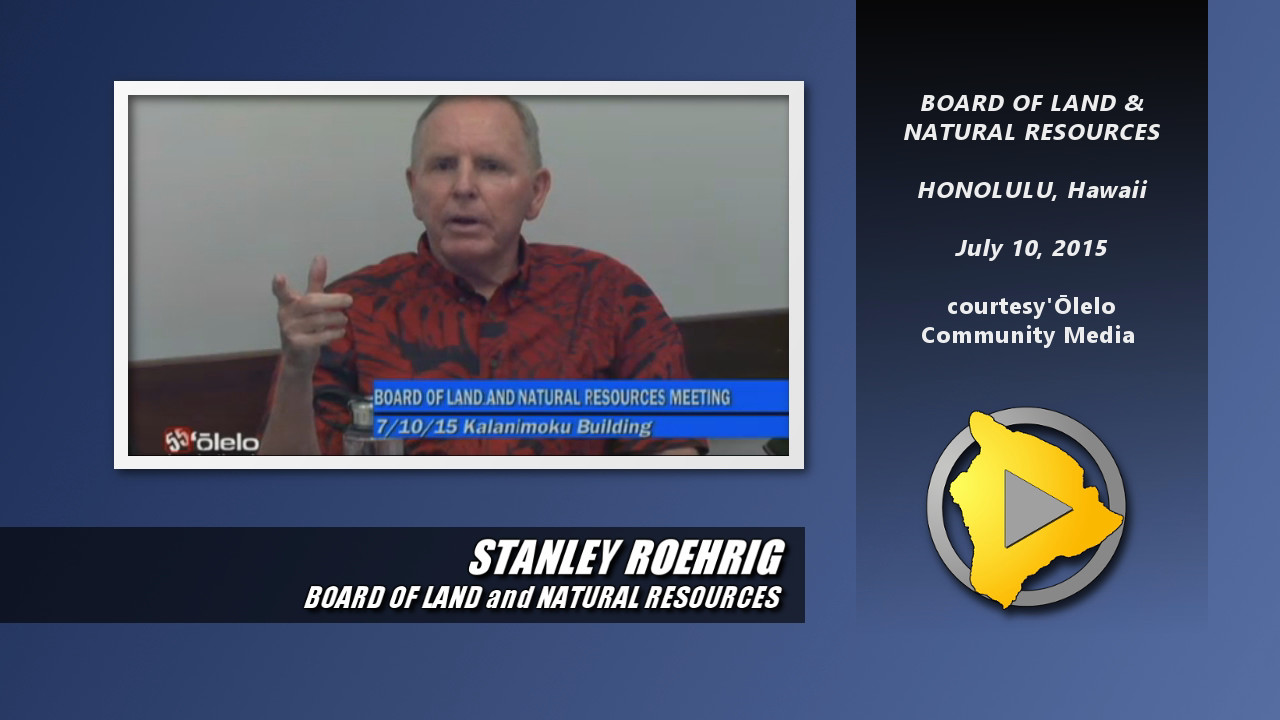 "VIDEO: BLNR's Roehrig Says TMT Holding Telescopes ""Hostage"""