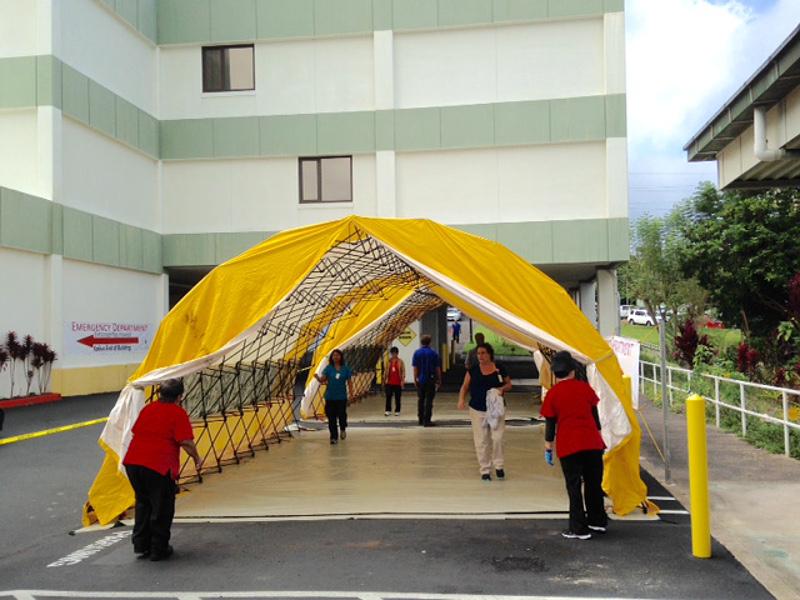 Kona Hospital Prepares for Major Aircraft Mishap