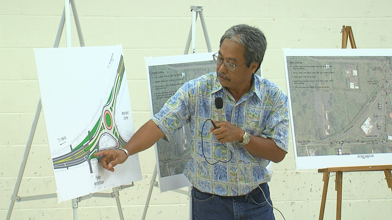 VIDEO: Pahoa Roundabout Discussed At Public Meeting