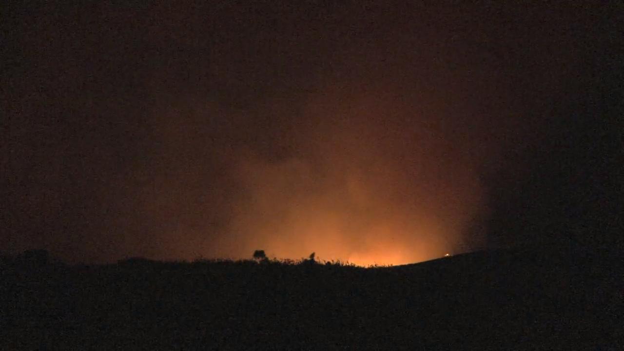 VIDEO: Kohala Brushfire Evening Update
