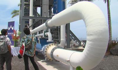 VIDEO: Switch Flipped On Kona OTEC Plant