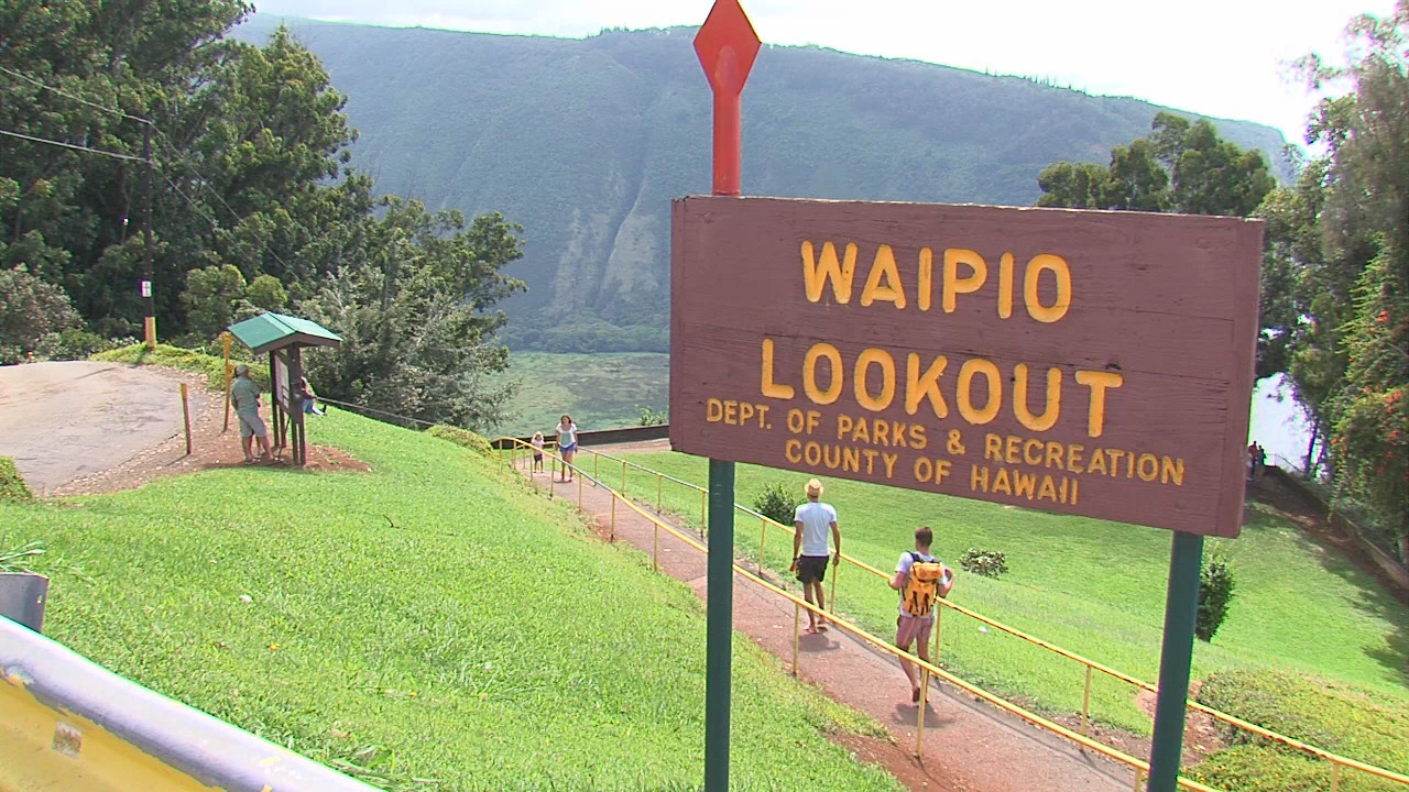 VIDEO: Stewardship Grant For Waipio Lookout