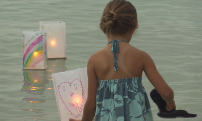 VIDEO: North Hawaii Hospice Lantern Floating