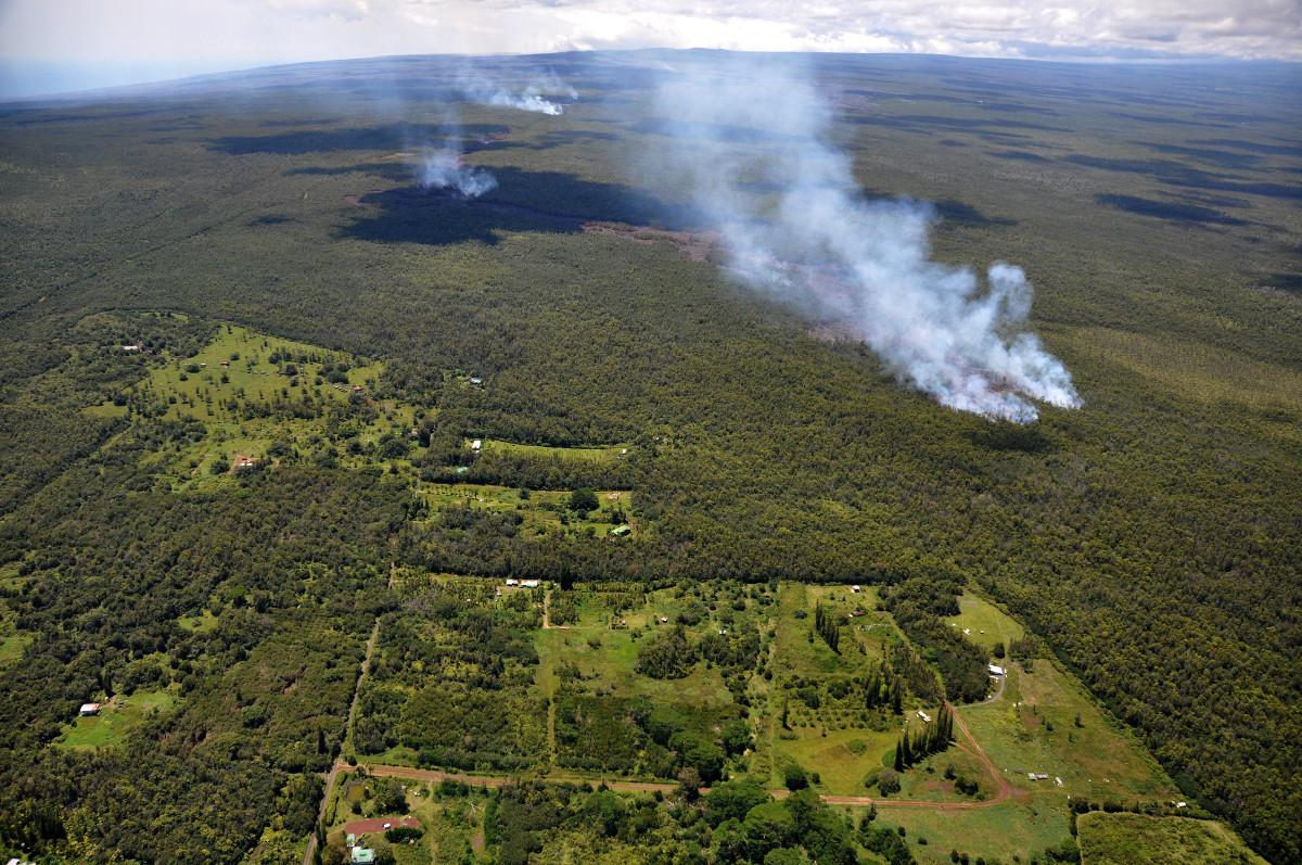 """One Year Anniversary Of Puna Volcano """"Warning"""""""