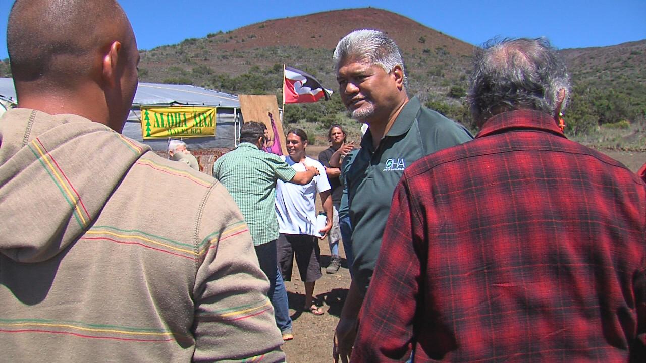 VIDEO: OHA Trustees Visit Mauna Kea