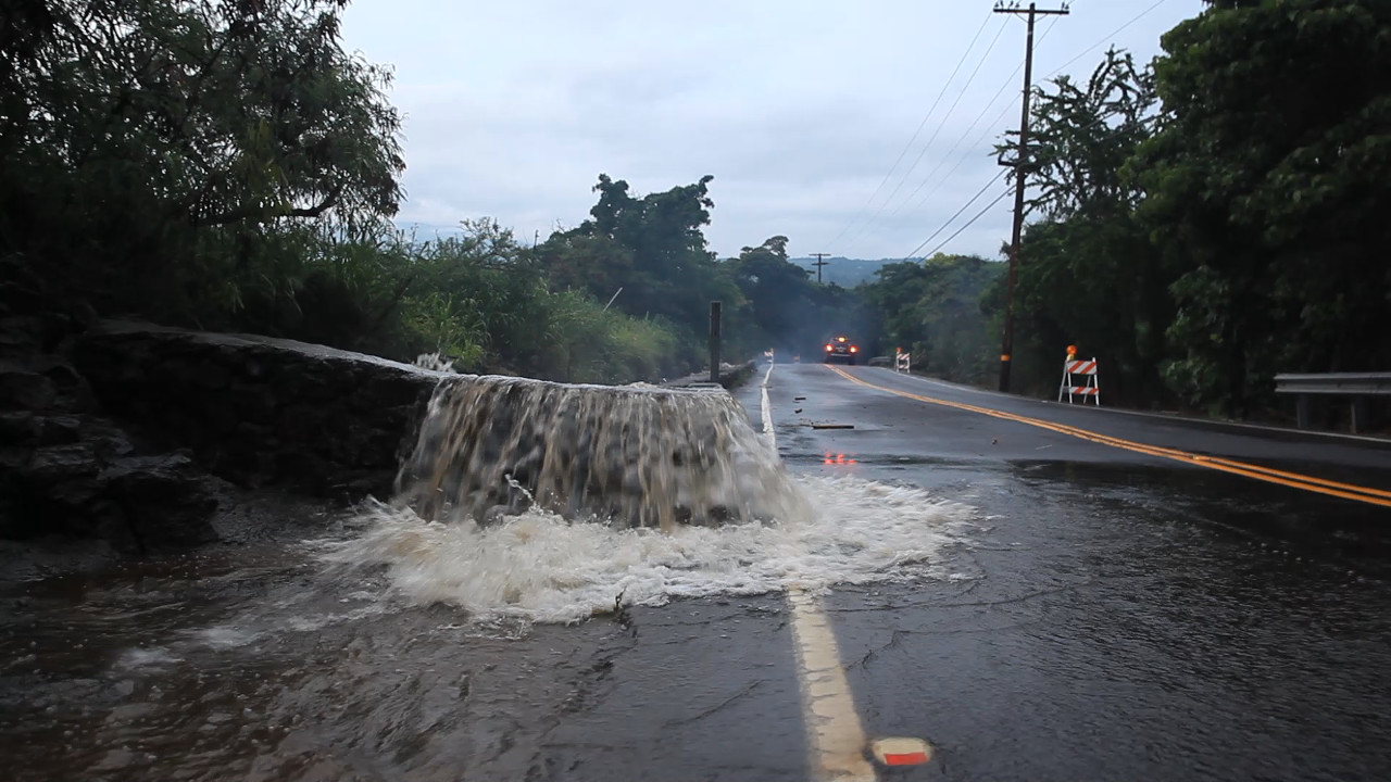 VIDEO: Days Of Flash Flooding In Kona