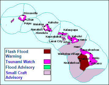 Kona Under Another Flash Flood Warning