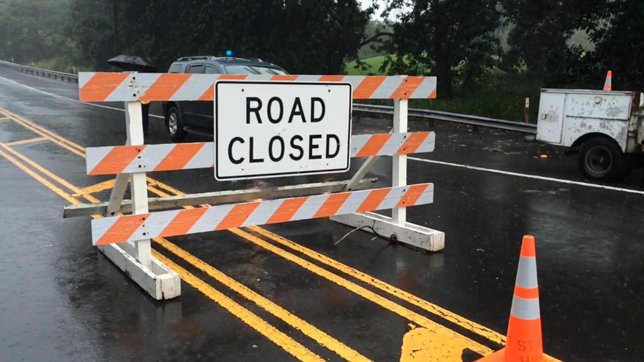 Flash Flooding Hits Ka'u, Highway 11 Closed