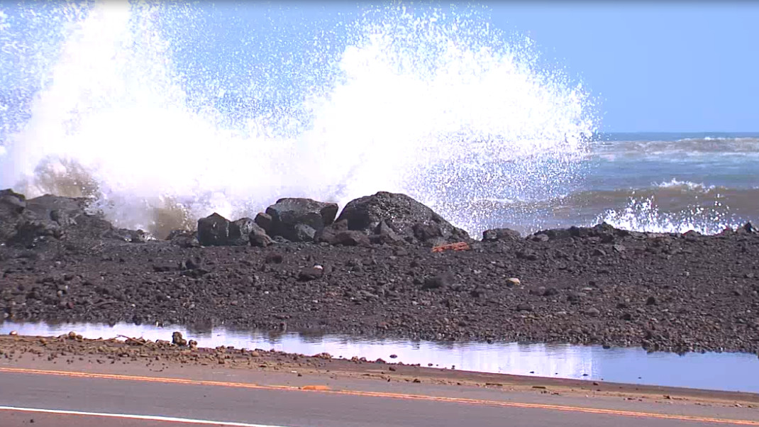 Another Day Of Hilo Beach Closures Due To High Surf