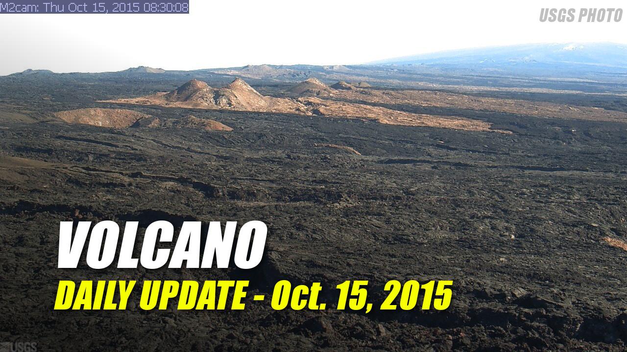 Volcano Update – October 15, 2015