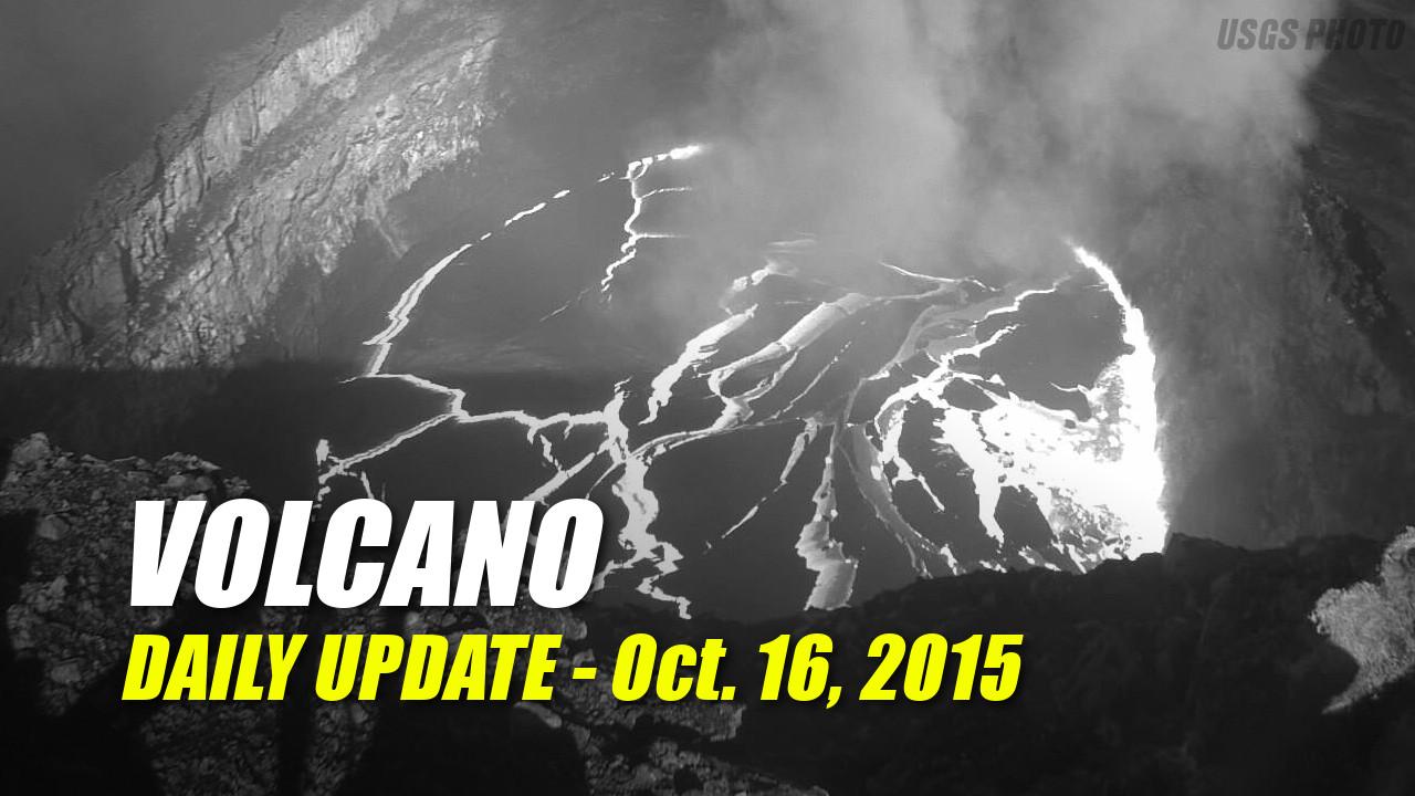Volcano Update – October 16, 2015