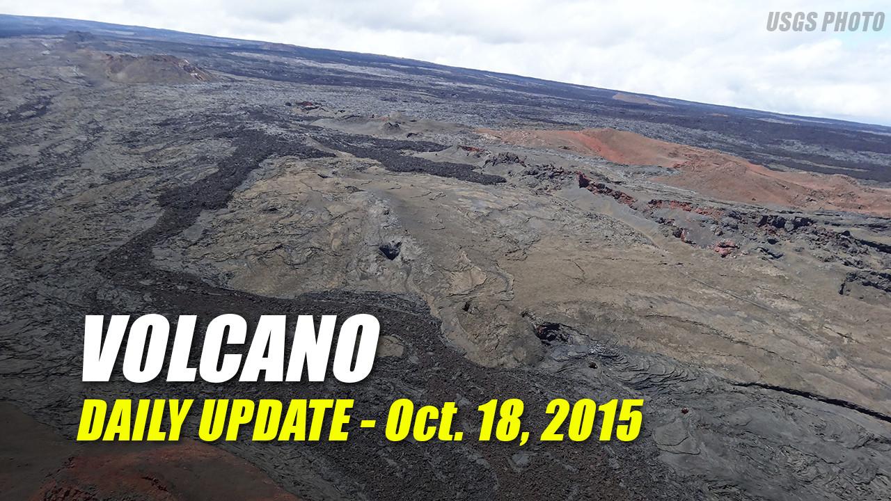 Volcano Update – October 18, 2015