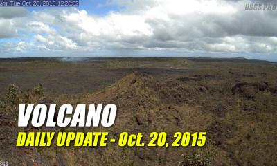 Volcano Update – October 20, 2015
