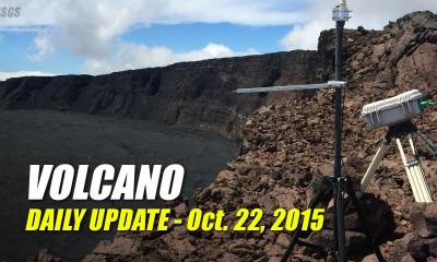 Volcano Update – October 22, 2015