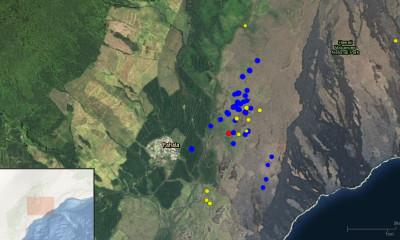 Earthquake Swarm Observed Near Pahala