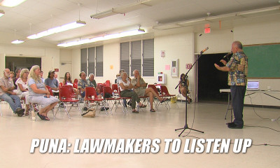 VIDEO: Puna To Sound Off To State Lawmakers