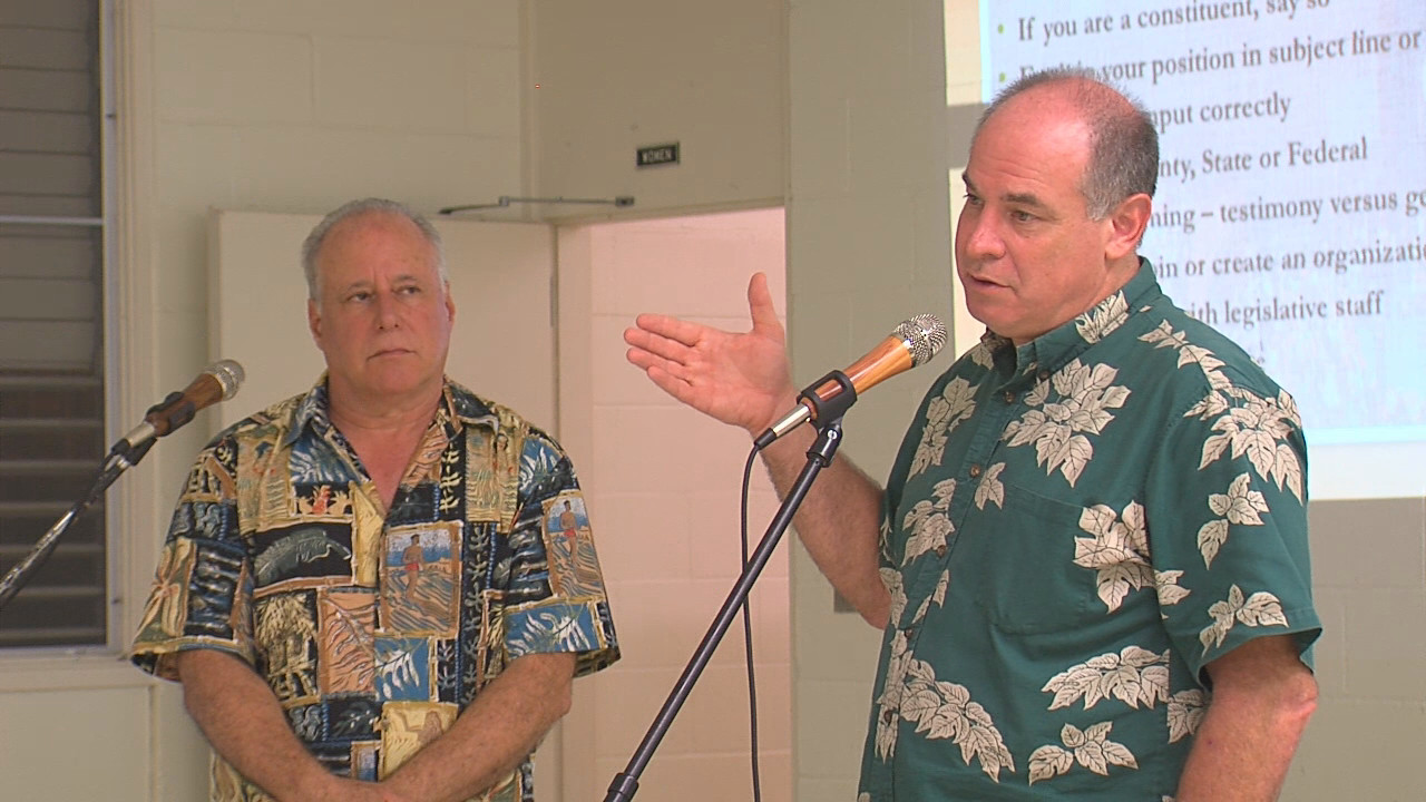 VIDEO: Puna Takes On Squatters