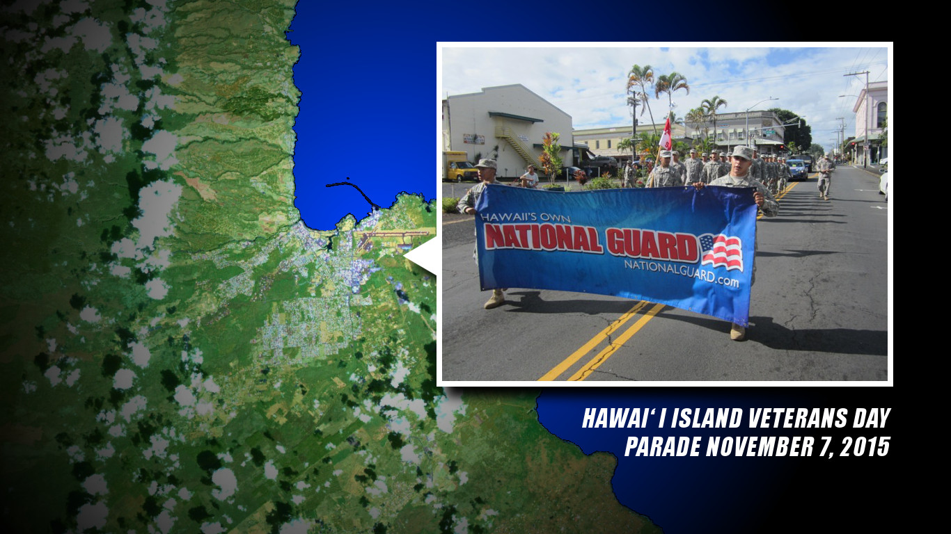 Hawaii Island Veterans Day Parade Tomorrow in Hilo