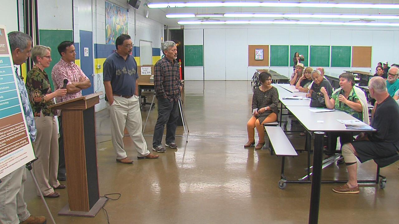 VIDEO: Dengue Fever Meeting Held In Hilo
