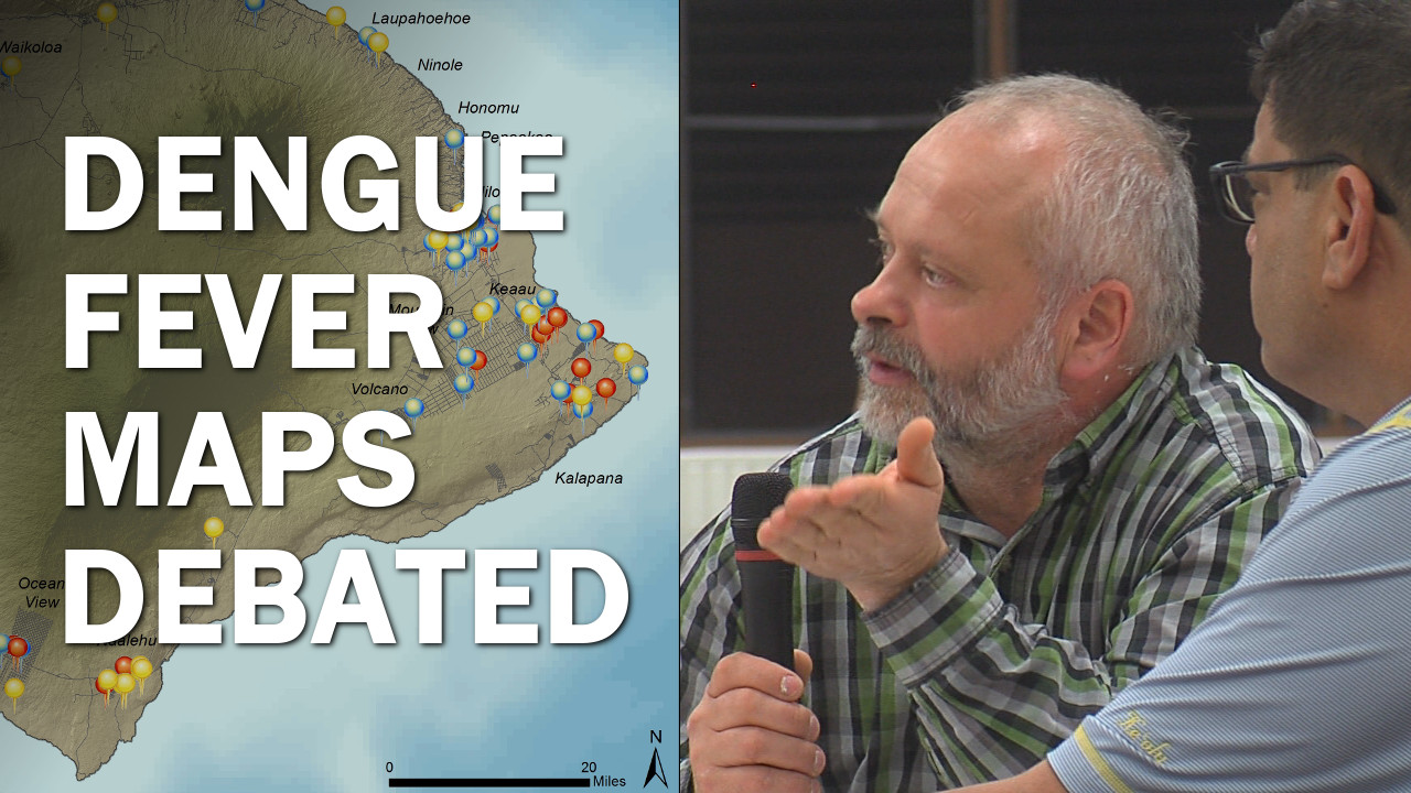 VIDEO: Dengue Fever Maps Debated At Public Meeting